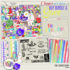No ProbLlama - Bundle - By Neia Scraps
