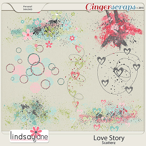 Love Story Scatterz by Lindsay Jane