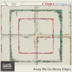 Away We Go Messy Edges by Aimee Harrison