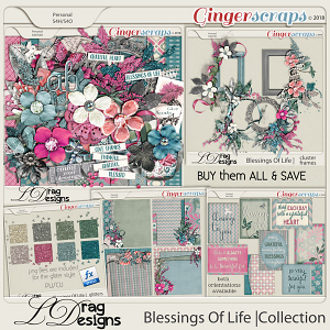 Blessings Of Life: The Collection by LDragDesigns