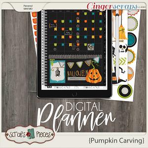 Pumpkin Carving Planner Pieces - Scraps N Pieces