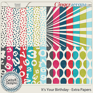 It's Your Birthday - Extra Papers