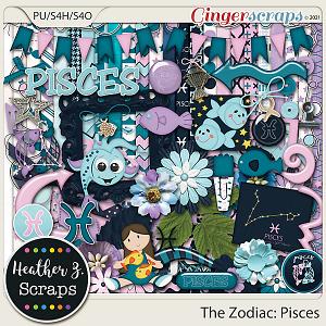 The Zodiac: Pisces KIT by Heather Z Scraps
