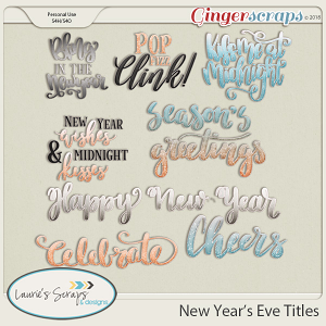 New Year's Eve Titles