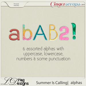 Summer Is Calling: Alphas by LDragDesigns
