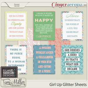 Girl Up Quote Cards by Aimee Harrison and Tami Miller