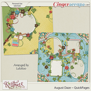 August Daze QuickPages