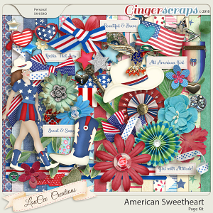 American Sweetheart by LouCee Creations