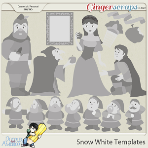 Doodles By Americo: Snow White Templates