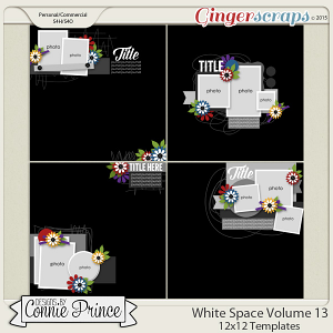 White Space Volume 13 - 12x12 Temps (CU Ok)