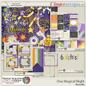 One Magical Night Value Bundle by Trixie Scraps Designs