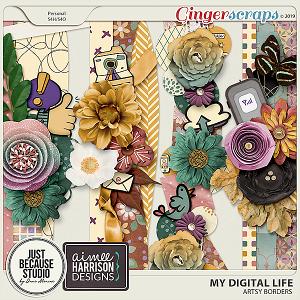 My Digital Life Borders by JB Studio and Aimee Harrison Designs