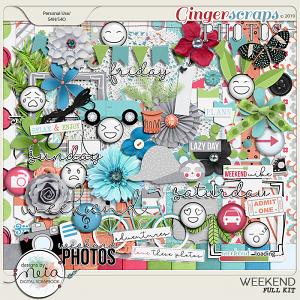 Weekend - Full Kit - by Neia Scraps