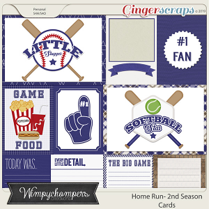 Home Run- Second Season Blue Cards