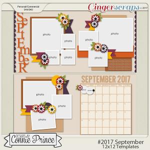 #2017 September - 12x12 Template Pack (CU Ok)
