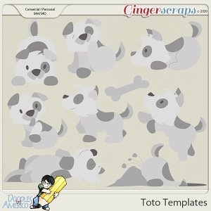 Doodles By Americo: Toto Templates
