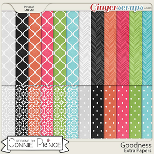 Goodness - Extra Papers by Connie Prince