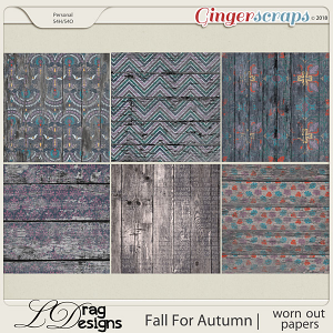 Fall For Autumn: Worn Out Papers by LDrag Designs