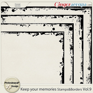 Keep your memories Stamps&Borders Vol.9