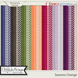 Seasons Change Pattern Papers