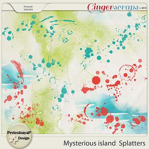 Mysterious island Splatters