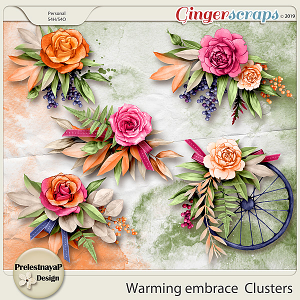 Warming embrace Clusters