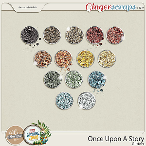 Once Upon A Story Glitters by JoCee Designs and Just Because Studio