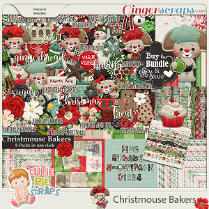 Christmouse Bakers Bundle