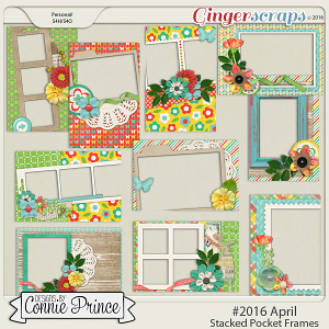 #2016 April - Stacked Pocket Frames
