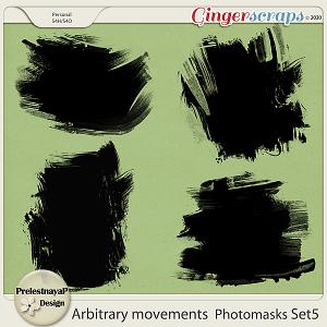 Arbitrary movements Photomasks Set5