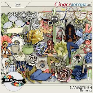 Namaste-ish - Elements by Lisa Rosa Designs