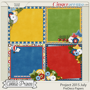 Project 2015 July - PreDeco Papers