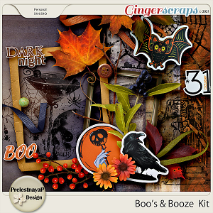 Boos and Booze Kit