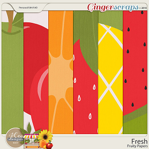 Fresh Fruity Papers by JoCee Designs