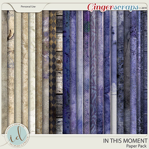 In This Moment Paper Pack by Ilonka's Designs