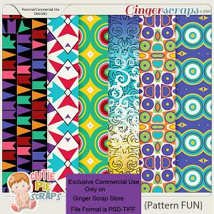 CU Fun Pattern Layered Papers