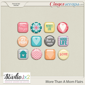 More Than A Mom Flair Pack