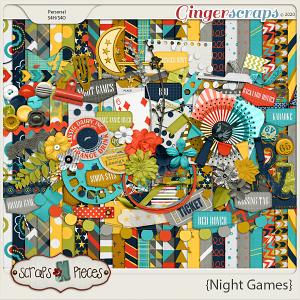 Night Games kit - Scraps N Pieces