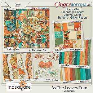 As The Leaves Turn Collection by Lindsay Jane