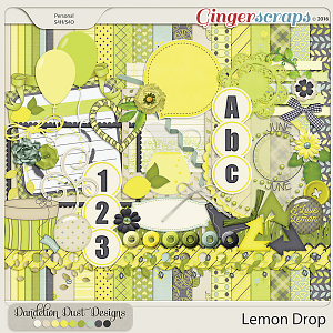 Lemon Drop By Dandelion Dust Designs