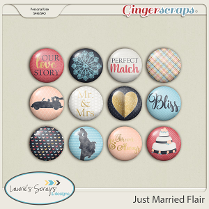 Just Married Flairs