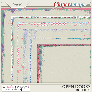 Open Doors - Borders - by Neia Scraps
