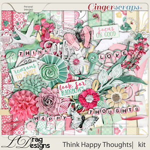 Think Happy Thoughts by LDragDesigns