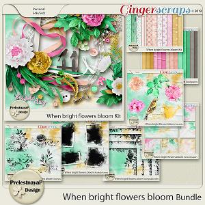 When bright flowers bloom Bundle