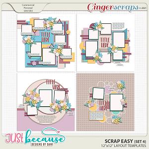 Scrap Easy 4 Templates by JB Studio