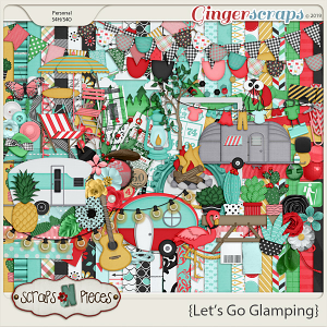Let's Go Glamping kit by Scraps N Pieces