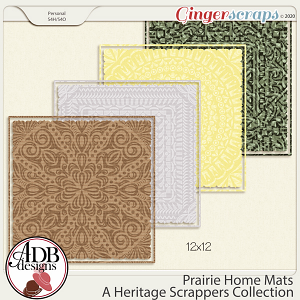 Prairie Home Mats by ADB Designs