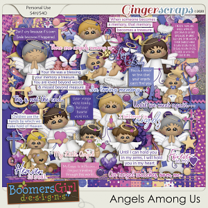 Angels Among Us by BoomersGirl Designs
