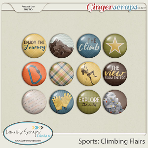 Sports: Climbing Flairs