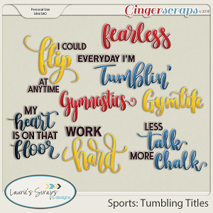 Sports: Tumbling Titles